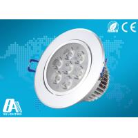 Wholesale Energy Saving Led Ceiling Downlights Ac 85v - 265v 560LM White Ceiling Lights from china suppliers