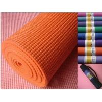 Wholesale Beautiful Anti Slip Pvc Exercise Fitness Yoga Mats , Recycled And Unique from china suppliers