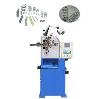 Quality High Speed Compressed Spring Making Machine With Unlimited Wire Feeding Length for sale
