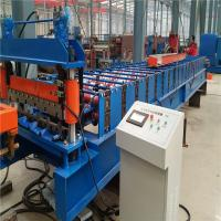 Wholesale High speed 10-15m/min low noice corrugated metal plate roll forming machine from china suppliers