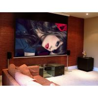 Wholesale Remote Control Motorized Projector Screen 3D Fiberglass White Screen Fabric from china suppliers