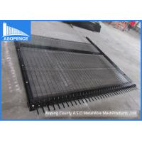Buy cheap Black Clear View Clearvu Steel Security Fencing Powder Painted For School from wholesalers