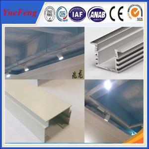 Wholesale NEW!OEM led aluminum profile, aluminium profile 6063 white anodizing aluminium extrusion from china suppliers