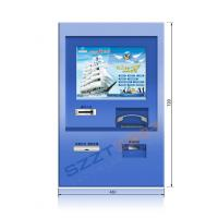 Wholesale ZT2830 Custom Wall Mounted Retail / Financial Banking Kiosk with Coin Acceptor, Cash Acceptor from china suppliers