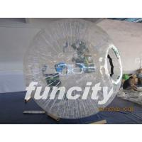 Wholesale 1.0mm TPU material Transparent Inflatable Grass Zorbing Ball with Soft Cushion from china suppliers