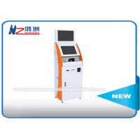 Wholesale Floor Standing Bill Self Service Payment Kiosk , Coin Accepter / Cash Kiosk Machines from china suppliers