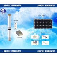 Wholesale DC Solar Deep Well Submersible Pump Efficient With Stainless Steel Casing from china suppliers