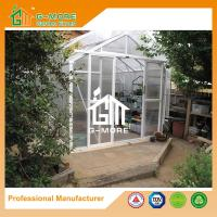 Wholesale 258X253X250CM White Color Imperial Series Double Door Aluminum Greenhouse from china suppliers