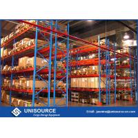 Quality Multi Level Warehouse Storage Shelving , 500 - 20000 Height Mm Industrial Racking Systems for sale