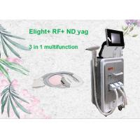 Wholesale Muntifunction E-light IPL RF Nd Yag Laser Machine for Tattoo Removal Hair Removal Skin Rejuvenation from china suppliers