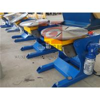Wholesale Φ600 Worktable 300KG Rotary Welding Positioners For Manual / Automatic Welding from china suppliers