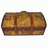 Wholesale Antique Wooden Wine Box with Durable and Easy to Use, Available in Various Designs from china suppliers