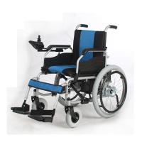 Wholesale Durable Standard Folding Electric Wheelchair , Drive Folding Wheelchair Rental from china suppliers