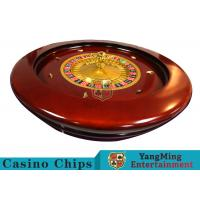 Wholesale Deluxe Solid Wooden Roulette Wheel Game Difficult To Deformation For Casino from china suppliers