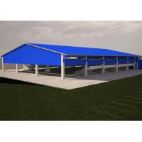 Wholesale Long Span Steel Frame Structures Storage Shed With Aluminum Alloy Window ISO CE from china suppliers