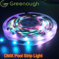 Wholesale DMX512 IC 24Pixel Magic strip Light Dream RGB Strip Light accent lighting pool strip light from china suppliers