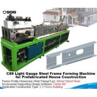 Wholesale Metal Sheet Roll Forming Machine Light Gauge Steel Framing Cold Roll Forming Machine from china suppliers