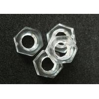Wholesale Standard Hardware Nuts Bolts M4 Metric Fine Thread Plastic Hex Nuts DIN 934 from china suppliers