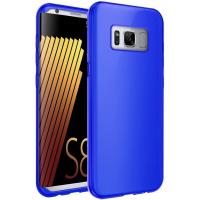 Wholesale Lightweight Silicone Protective Samsung Cell Phone Cases Blue TPU Gel Soft Skin from china suppliers