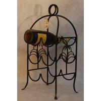 Buy cheap Iron Wine Rack from wholesalers