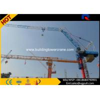 Wholesale Building Construction Machine Luffing Jib Tower Crane Load Capacity 10T from china suppliers