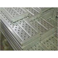 Wholesale Punching scaffolding steel plank catwalk  toeboard Transomsmetal ladder with hook or without from china suppliers
