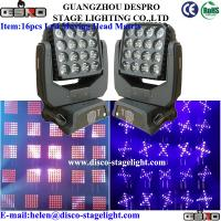 Quality Moving Head LED Matrix Beam DJ Stage DMX Strobe Light For Decoration for sale