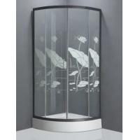Wholesale Lotus leaf design toughened glass shower enclosure newest shower cabins from china suppliers