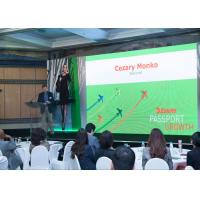 Buy cheap P2.5 Indoor Full Color LED Display , LED Wall Screens For World Trade Center In Moscow from wholesalers