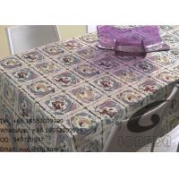 Wholesale Household Polyester Table Cloths And Decorative Window Curtains , Beautiful Roses from china suppliers