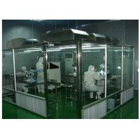 Wholesale ISO Semiconductor Air Shower Clean Room Class 100 - 10000 With Fan Filter Unit from china suppliers