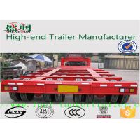 Wholesale Shengrun Q345 Steel flatbed semi trailer with JOST brand support leg from china suppliers
