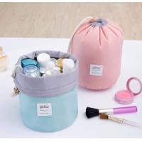 Wholesale Multi Purpose Cylinder Makeup Pouch Toiletry Pouch Storage Organizer Pouch Travel Drawstring Bag With Multi-Pockets from china suppliers
