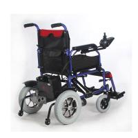 Quality Outdoor Power Wheelchair For Handicapped , Collapsible Electric Wheelchair for sale