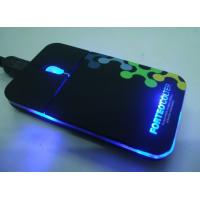 Wholesale super slim mouse with light logo from china suppliers