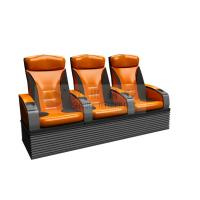 Wholesale Wonderful design 3 person 4D Theater Seats with real leather , dustproof cover from china suppliers