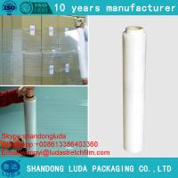 Buy cheap clear hand lldpe stretch film plastic pe stretch film high quality low price stretch film from wholesalers