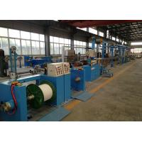 Wholesale Sky Blue Plastic Extrusion Line , electrical wire making machine 500Rpm Max Speed from china suppliers