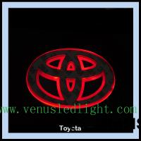 Wholesale car logo light Car Badge LED Light Truck Emblem Tail for ford toyota from china suppliers
