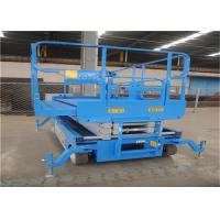 Wholesale Automotiv Self Propelled Scissor Lift Zero Inside Turning Radius Small Size from china suppliers