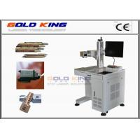 Wholesale High technological different colour Fiber laser marking machine for stainless steel from china suppliers