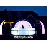 Wholesale Customized Decorative Inflatable Lighting Tent for Outdoor Bar Decoration from china suppliers