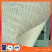 Wholesale white color fireproofing wallpaper home screen in Textilene fabric from china suppliers