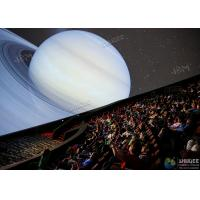 Wholesale Giant 4D Dome Cinema With Snow And Raining Effect Hemispherical Ball Curtain Screen from china suppliers