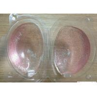 Wholesale 100% transparent Silicone bra  added gold powder with A,B,C,D size from china suppliers