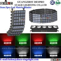 Wholesale 50W RGB Matrix Beam LED Blinder Light For Disco Creative Stage Lighting from china suppliers