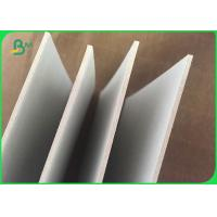 Wholesale gray cardboard offset printing uncoated  paper 700g 900g 1500g from china suppliers