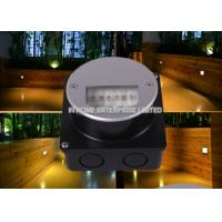Wholesale High brightness Round Recessed LED Wall Lights , Indoor / Outdoor Led Step Light from china suppliers