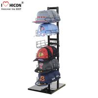 Wholesale Sportswear Products Store  6 - Layer Retail Display Fixtures Counter Top For Hat / Cap from china suppliers