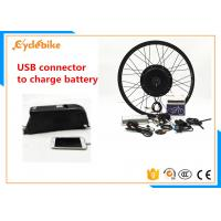 Wholesale Most Powerful Electric Bike Kit With Battery , Electric Motors For Bicycles Conversion Kits from china suppliers